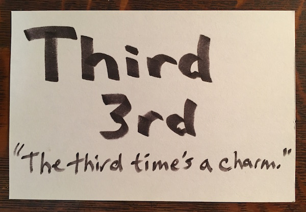 Third Time_Your Education Source