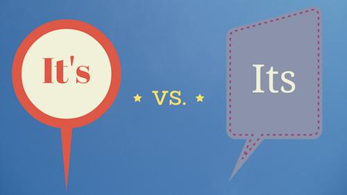 It's vs. Its YourEducationSource.com